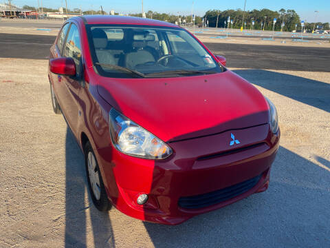 2015 Mitsubishi Mirage for sale at Nash's Auto Sales Used Car Dealer in Milton FL