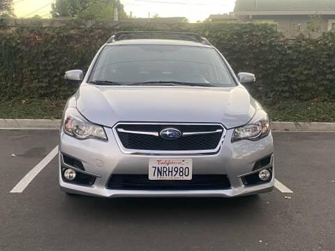 2016 Subaru Impreza for sale at CARFORNIA SOLUTIONS in Hayward CA