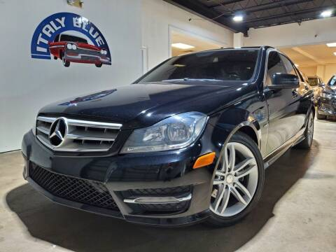 2012 Mercedes-Benz C-Class for sale at Italy Blue Auto Sales llc in Miami FL