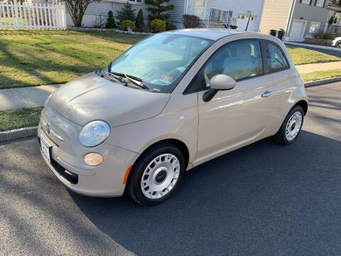 2012 FIAT 500 for sale at Crazy Cars Auto Sale in Jersey City NJ