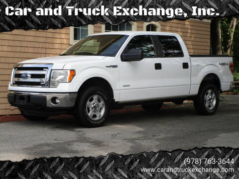 2013 Ford F-150 for sale at Car and Truck Exchange, Inc. in Rowley MA