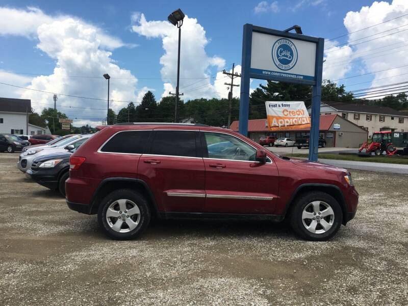 2012 Jeep Grand Cherokee for sale at Corry Pre Owned Auto Sales in Corry PA