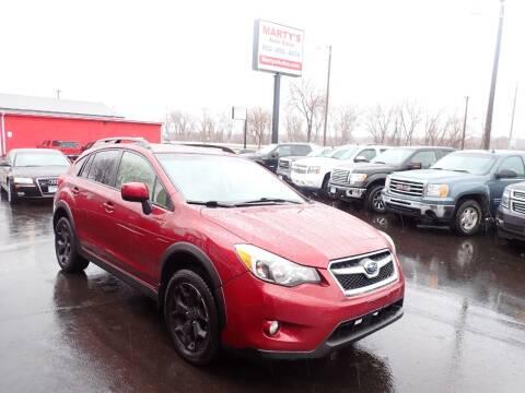 2013 Subaru XV Crosstrek for sale at Marty's Auto Sales in Savage MN