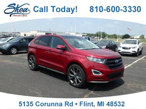 2018 Ford Edge for sale at Erick's Used Car Factory in Flint MI
