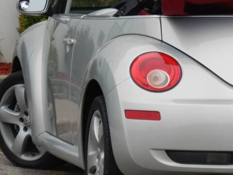 2009 Volkswagen New Beetle Convertible for sale at Moto Zone Inc in Melrose Park IL