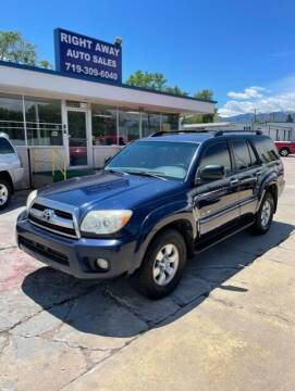 2007 Toyota 4Runner for sale at Right Away Auto Sales in Colorado Springs CO