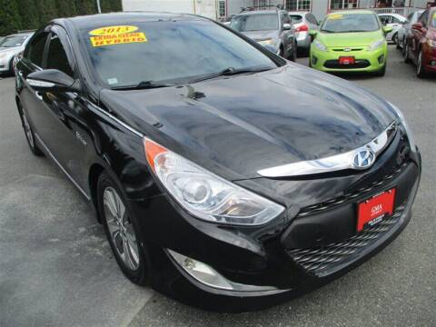 2013 Hyundai Sonata Hybrid for sale at GMA Of Everett in Everett WA