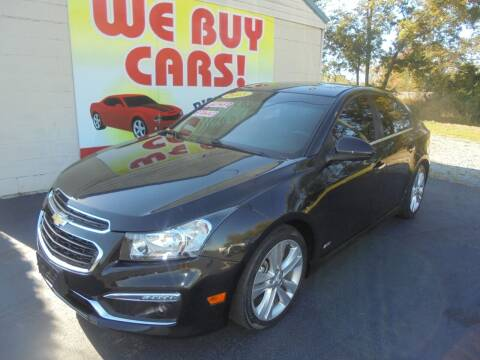 2015 Chevrolet Cruze for sale at Right Price Auto Sales in Murfreesboro TN