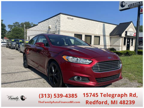 2016 Ford Fusion for sale at The Family Auto Finance in Redford MI