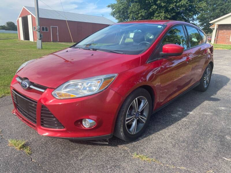 2012 Ford Focus for sale at Champion Motorcars in Springdale AR