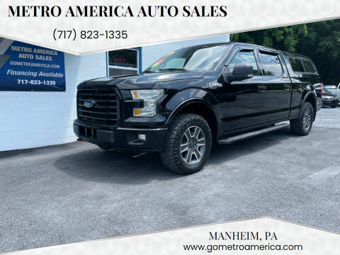 2016 Ford F-150 for sale at METRO AMERICA AUTO SALES of Manheim in Manheim PA