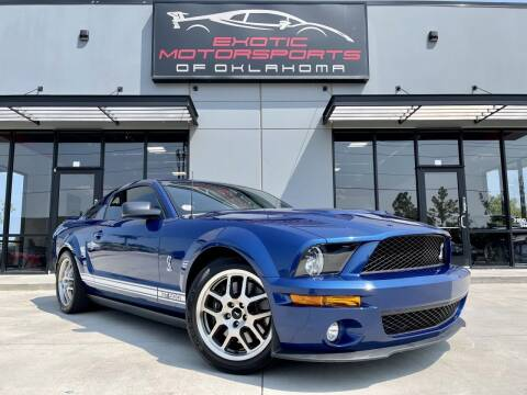 2009 Ford Shelby GT500 for sale at Exotic Motorsports of Oklahoma in Edmond OK