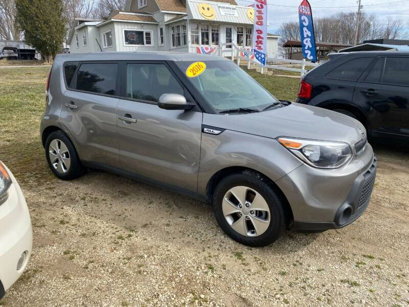2016 Kia Soul for sale at Hillside Motor Sales in Coldwater MI