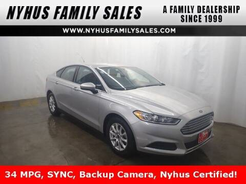 2016 Ford Fusion for sale at Nyhus Family Sales in Perham MN