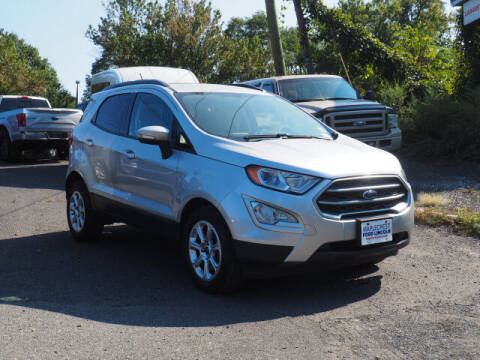 2018 Ford EcoSport for sale at MAPLECREST FORD LINCOLN USED CARS in Vauxhall NJ
