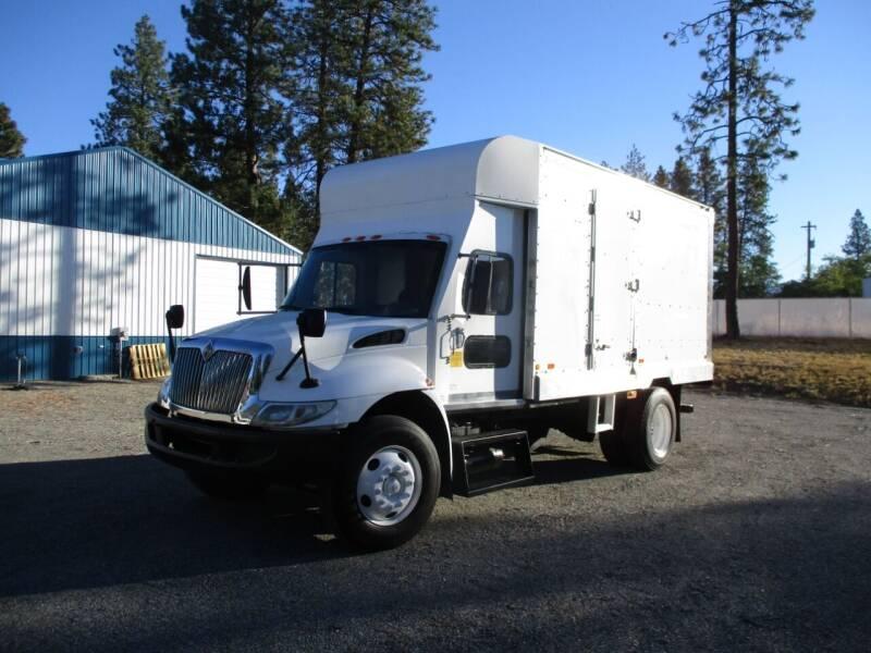 2003 International 4300 BOX TRUCK for sale at BJ'S COMMERCIAL TRUCKS in Spokane Valley WA