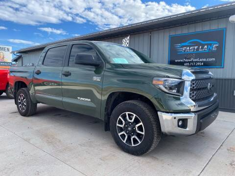 2021 Toyota Tundra for sale at FAST LANE AUTOS in Spearfish SD