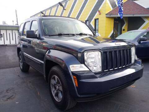 2008 Jeep Liberty for sale at MIRACLE AUTO SALES in Cranston RI