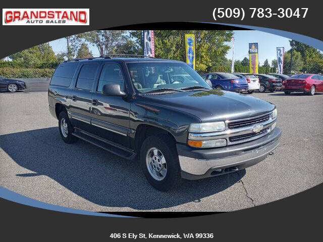 2003 Chevrolet Suburban for sale at Grandstand Auto Sales in Kennewick WA