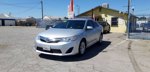 2014 Toyota Camry for sale at Autosales Kingdom in Lancaster CA