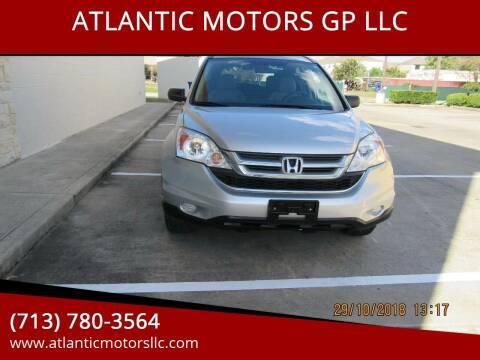 2011 Honda CR-V for sale at ATLANTIC MOTORS GP LLC in Houston TX