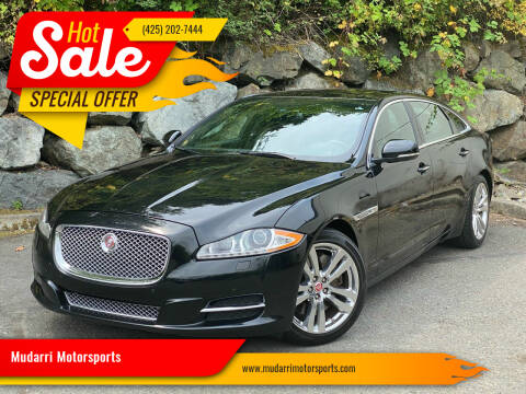 2014 Jaguar XJL for sale at Mudarri Motorsports in Kirkland WA
