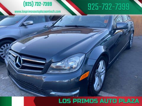 2014 Mercedes-Benz C-Class for sale at Los Primos Auto Plaza in Antioch CA