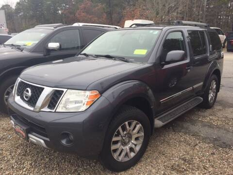 2010 Nissan Pathfinder for sale at The Car Guys in Hyannis MA