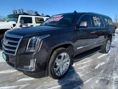 2018 Cadillac Escalade ESV for sale at FREDDY'S BIG LOT in Delaware OH