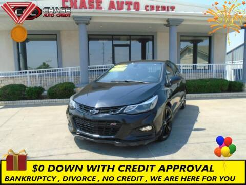 2018 Chevrolet Cruze for sale at Chase Auto Credit in Oklahoma City OK