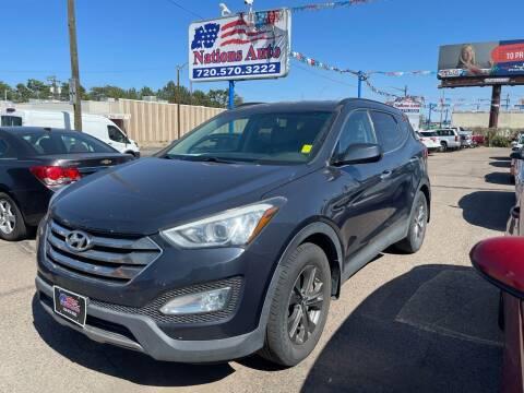 2013 Hyundai Santa Fe Sport for sale at Nations Auto Inc. II in Denver CO