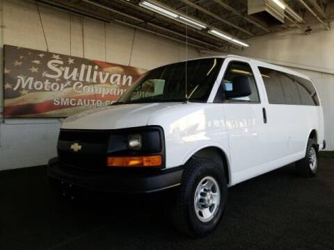 2015 Chevrolet Express Passenger for sale at SULLIVAN MOTOR COMPANY INC. in Mesa AZ