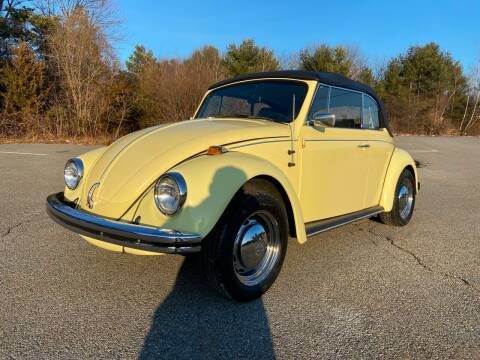 1969 Volkswagen Beetle Convertible for sale at Clair Classics in Westford MA