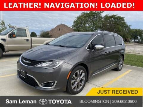 2017 Chrysler Pacifica for sale at Sam Leman Toyota Bloomington in Bloomington IL