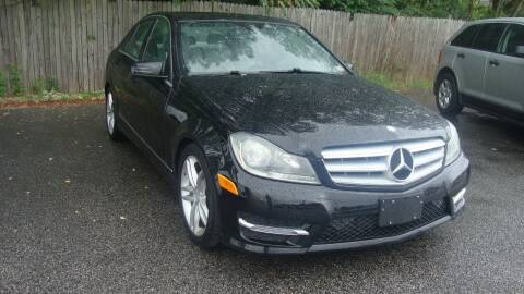 2013 Mercedes-Benz C-Class for sale at Easy Ride Auto Sales Inc in Chester VA
