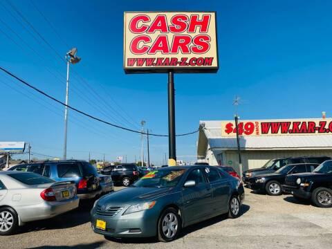 2009 Toyota Camry for sale at www.CashKarz.com in Dallas TX