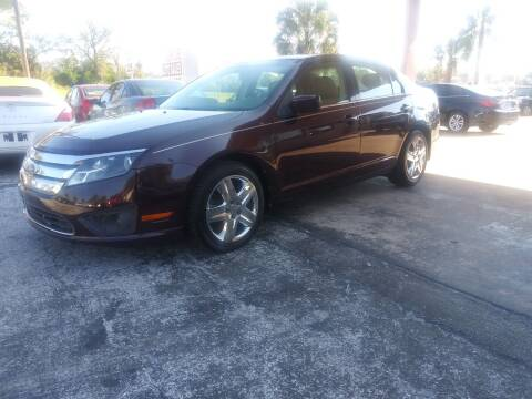 2011 Ford Fusion for sale at AutoVenture Sales And Rentals in Holly Hill FL
