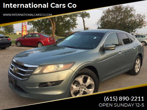 2010 Honda Accord Crosstour for sale at International Cars Co in Murfreesboro TN