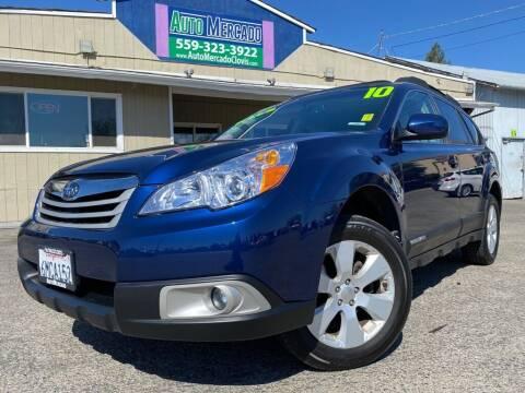2010 Subaru Outback for sale at Auto Mercado in Clovis CA