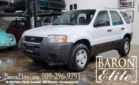 2003 Ford Escape for sale at Baron Elite in Upland CA