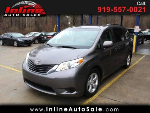 2014 Toyota Sienna for sale at Inline Auto Sales in Fuquay Varina NC