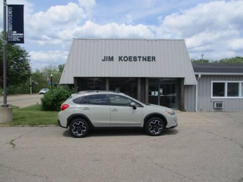 2015 Subaru XV Crosstrek for sale at JIM KOESTNER INC in Plainwell MI