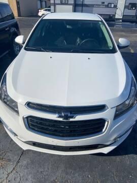 2015 Chevrolet Cruze for sale at DAVE KNAPP USED CARS in Lapeer MI