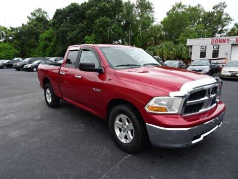 2009 Dodge Ram Pickup 1500 for sale at DONNY MILLS AUTO SALES in Largo FL