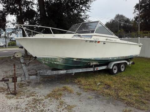 "1981 space craft 23'4"" for sale at Coastal Car Brokers LLC in Tampa FL"