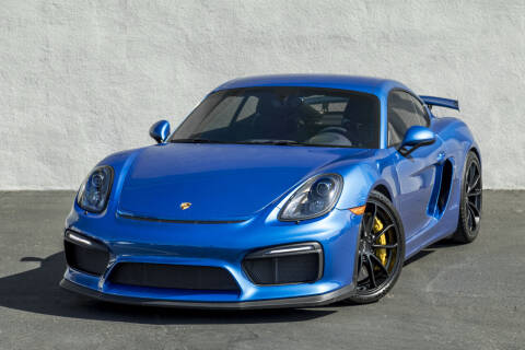 2016 Porsche Cayman for sale at Nuvo Trade in Newport Beach CA