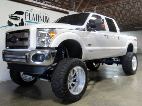 2015 Ford F-250 Super Duty for sale at Platinum Motors in Portland OR