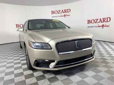 2017 Lincoln Continental for sale at BOZARD FORD in Saint Augustine FL