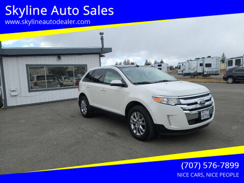 2013 Ford Edge for sale at Skyline Auto Sales in Santa Rosa CA
