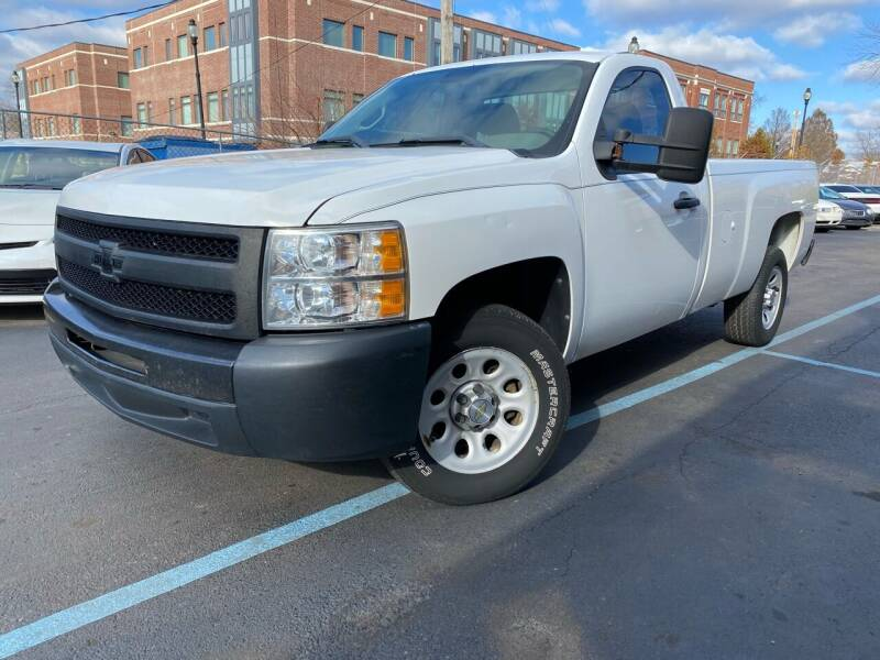 2012 Chevrolet Silverado 1500 for sale at Samuel's Auto Sales in Indianapolis IN